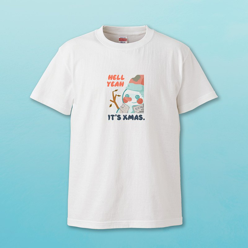 [Snowman Series] Snowman is very poor Christmas couple t-shirt Valentine's Day gift healing