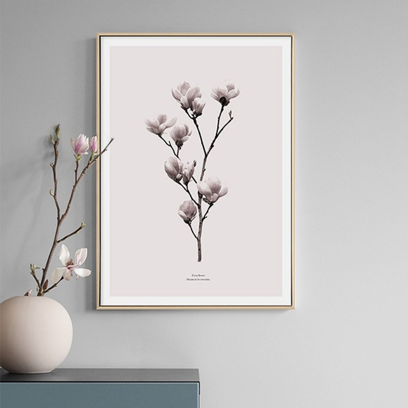 Bloom • Magnolia - Painting / Flower Tree Plant / Gift / Living Room Painting / Flower / Copy Painting / Home Life