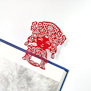 MARK TAIWAN Mai Mai Festival - The Holy Mother of Heaven Metal Bookmarks - Red