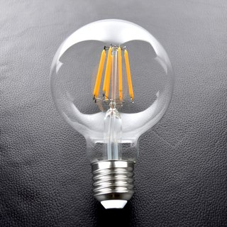 G80 imitation tungsten wire LED bulb