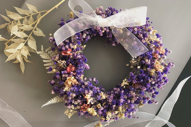 【ワークショップ】Play with a wreath hand tied with a star wreath experience event