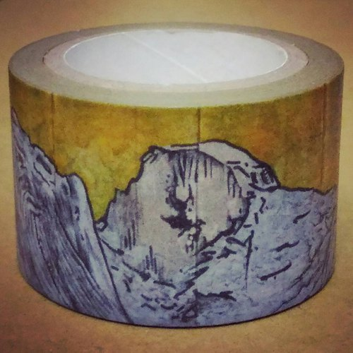 World Shan Shui : Earth Landscape Album - ㄊㄚㄌㄌ = Washi Masking Tape  30mm