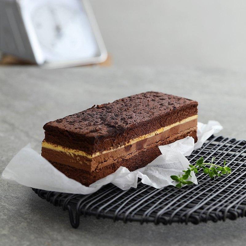 純生巧克力布蕾蛋糕