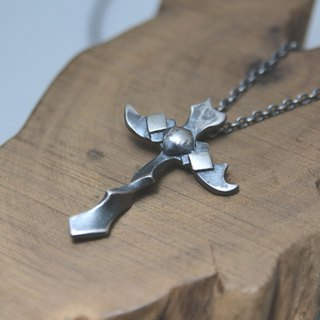 Sterling Silver Necklace / Cross