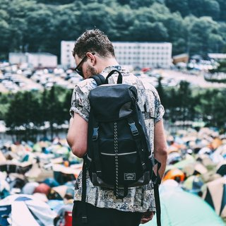 Matchwood Design Matchwood Apollo Waterproof Notebook Backpack Bags 17吋 Laptop Protection Black gray Limited Edition