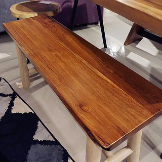 Kenong teak wood bench