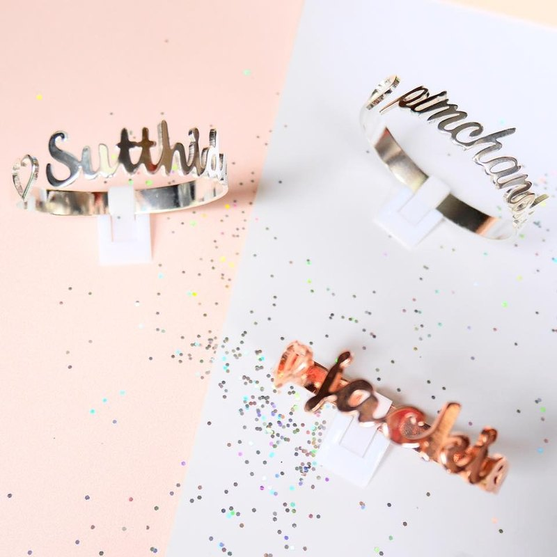 glorygrove twist alphabet bangle