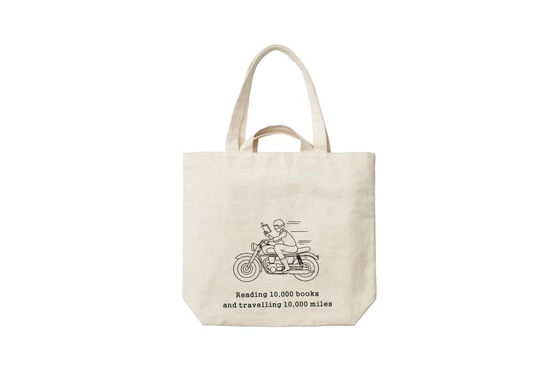 Eat tea to canvas bag Shenzhen Eslite shop opening commemorative limited edition