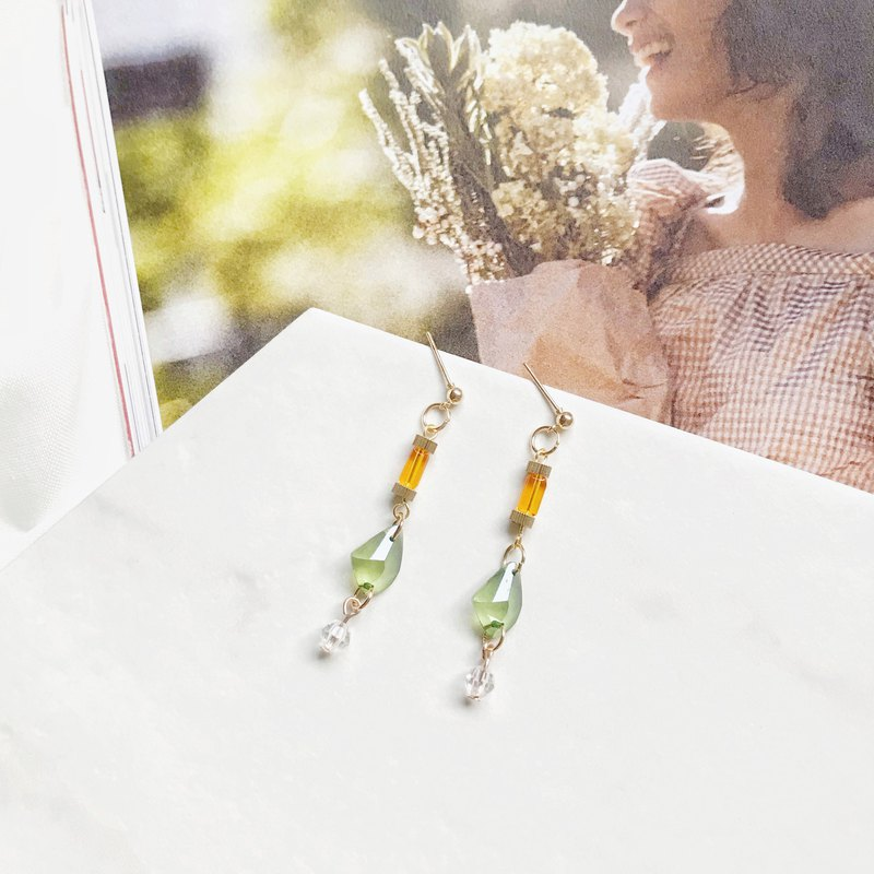 Summer style - hand made earrings