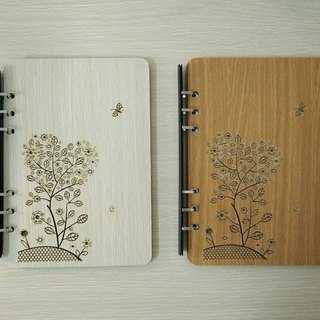 Taiwan stack [customization - color and pattern can be replaced] A5 two loose-leaf 6-hole notebook - heart of the tree notebook / album / stationery / folders / gifts / gifts