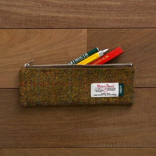 NTMY.Harris Tweed Pen Case