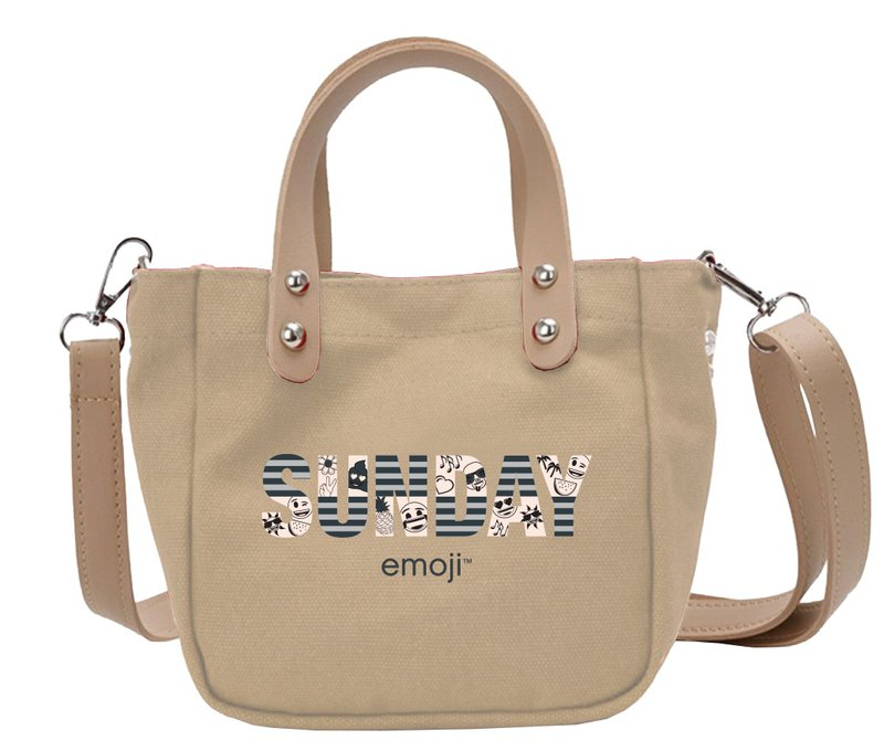 Emoji Emoji License - Belt Shoulder Bag (Khaki), EM03