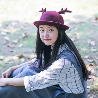 Zhang lovely fresh elk hat skullcaps