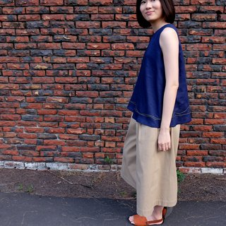Nine wide pants. Khaki