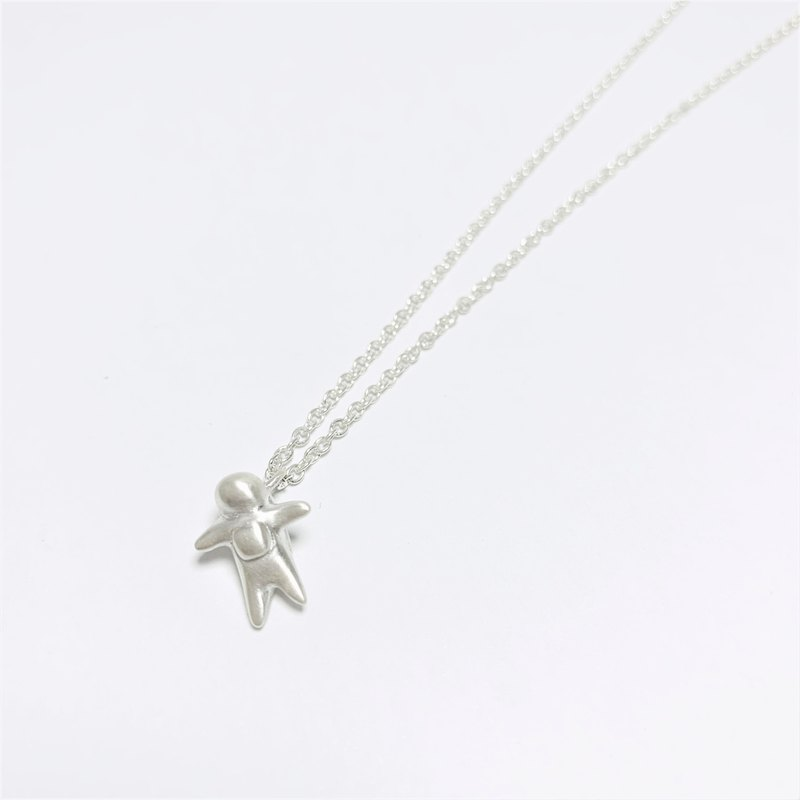 Spaceman sterling silver necklace | universe adventure series