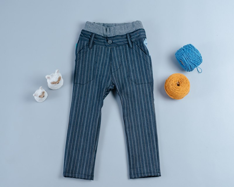 Custom denim trousers - line 3 pants children baby boy parent-child denim trousers