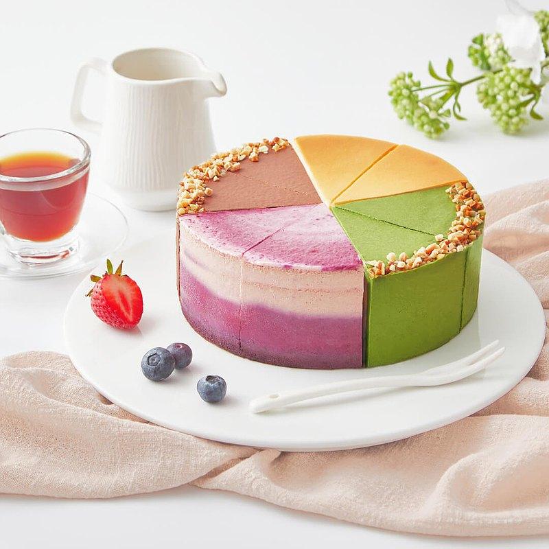派對組合乳酪蛋糕-四種口味