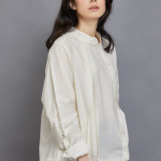 Bamboo Forest Long Sleeve Shirt_Pearl Diamond Pattern_Fair Trade