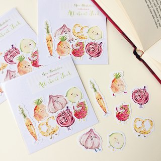 Watercolour Cute Food Planner Stickers - All About Food Collection 2 (WT-021)