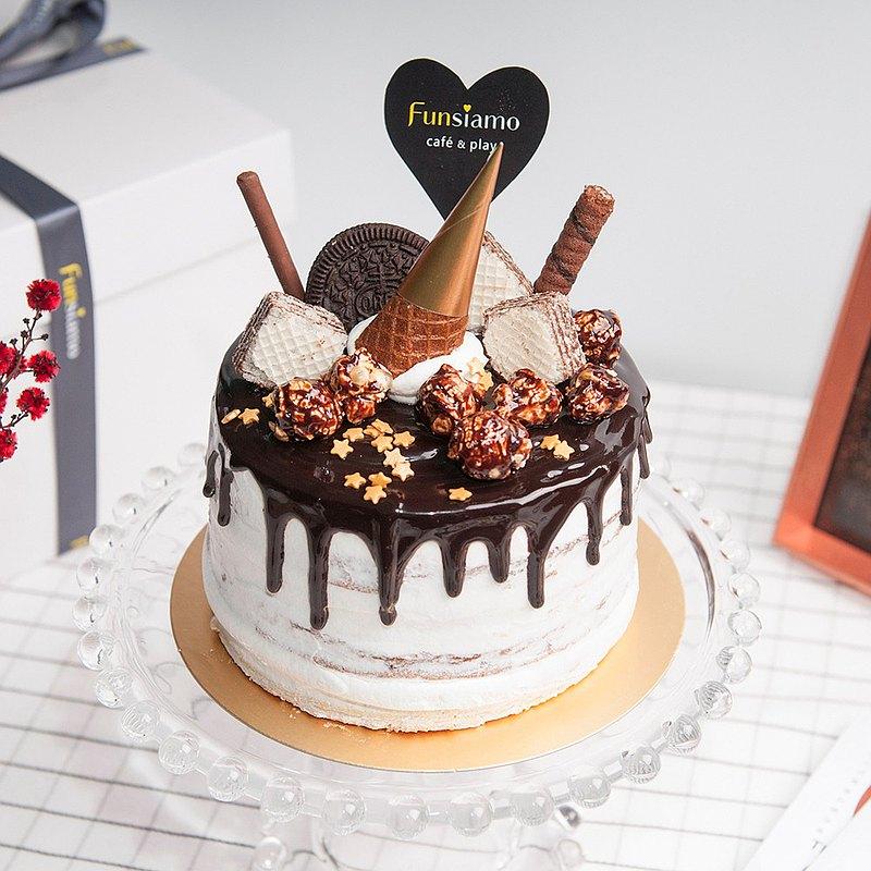 【板橋新板店】法芙娜巧克力香蕉蛋糕・蛋糕烘焙DIY・平板教學