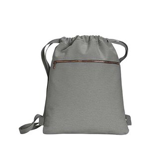 Comfort Colors│American Fashion Bundle Back Backpack│Canvas Bag│Side Backpack|Gray