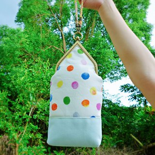 Soda soda bubble house type gold bag / carry-out bag