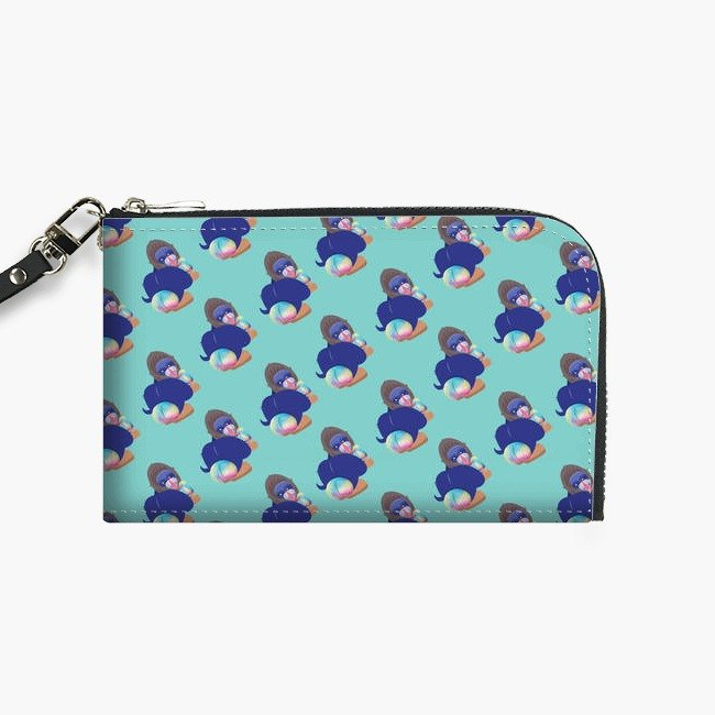 Snupped Isotope - Phone Pouch - MonkeySlut