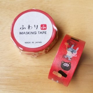 Japan Iyo and paper Fuwari Japanese fairy tales and paper tape [Kacha Kacha Mountain (KKY47001)]