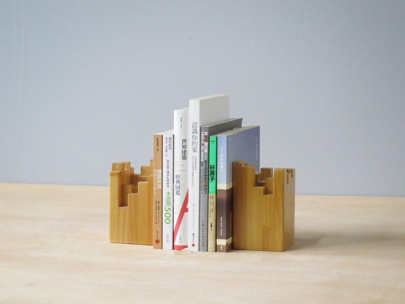 HO MOOS kyline Series - city Bookends
