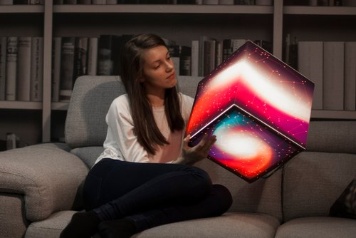 Know Your Stars Light Cube Lamp by UNIQCUBE
