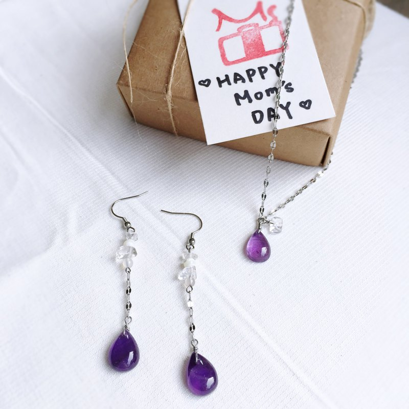 Limited elegant crystal jewelry gift set | Unique jewelry for unique Mom