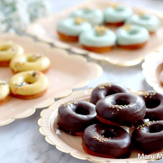 [Free shipping program] chocolate mini donuts 120 wedding gifts customized to send customers sugar dessert bar