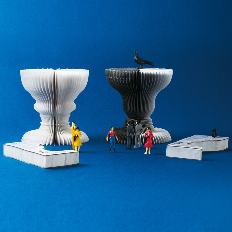 RUBIN VASE 3D STICKY NOTES
