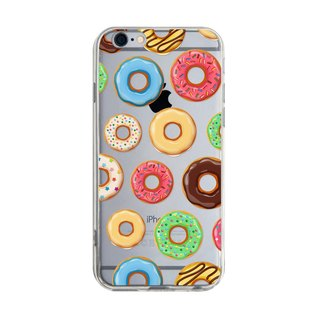 Fun Donut - iPhone X 8 7 6s Plus 5s Samsung note S9 Mobile Shell