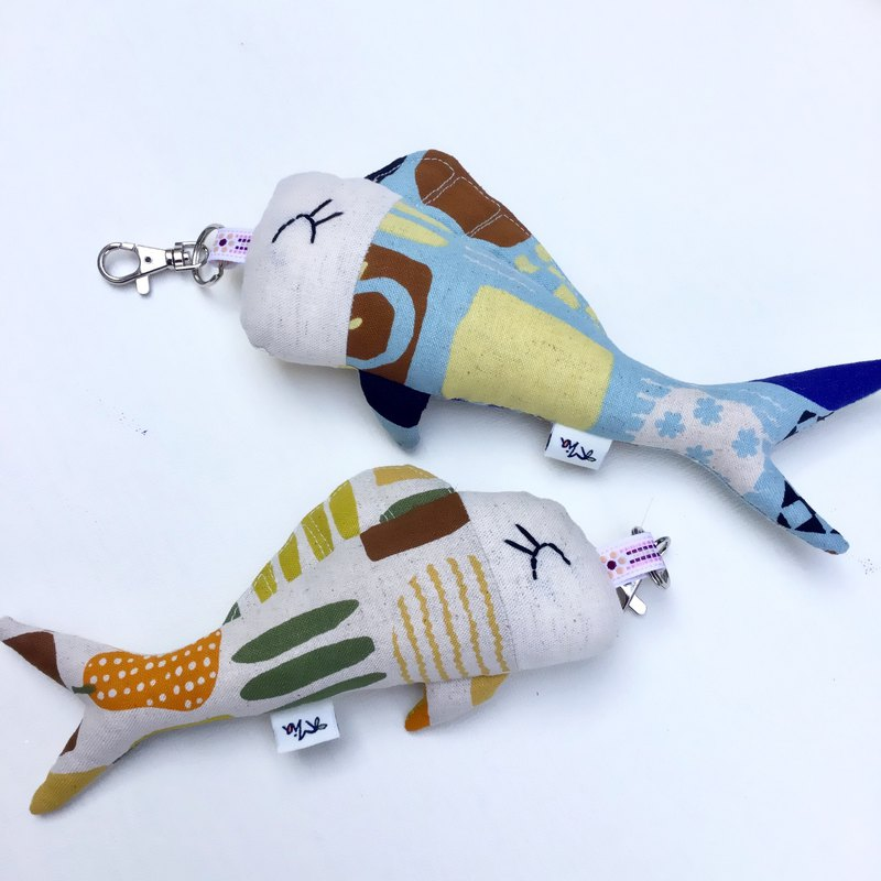 The most affectionate ghost knife - fish and fish ornaments - couples Maji two into the special group - Valentine's Day gift