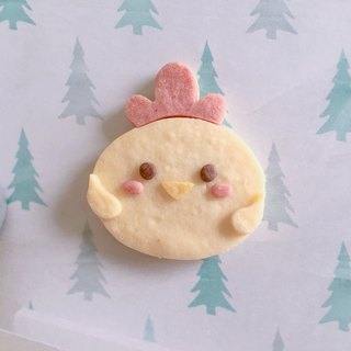 Chicken shaped handmade biscuits (non-icing, no artificial colors)