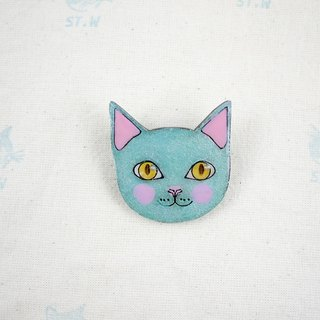 Smile cat - Wen Qing cat pin