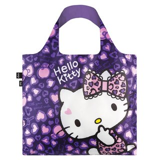 LOQI-KITTY Leopard Purple KT07