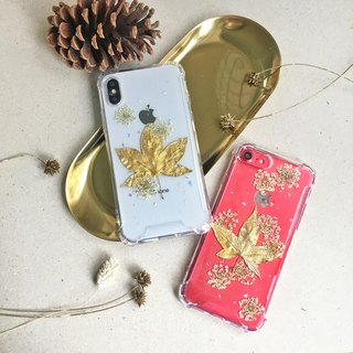 Maple Christmas dreamy shiny flower phone case