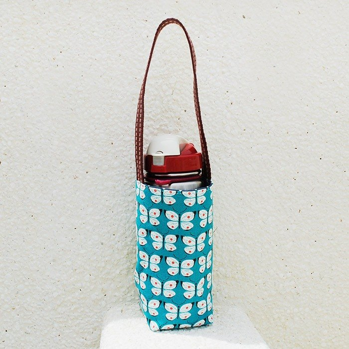 Butterfly flying water bottle bag