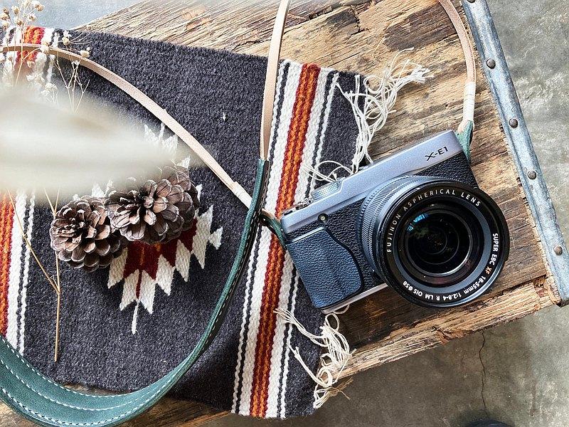 相機帶 皮革材料包 好好縫 皮帶 真皮 DIY 意大利皮 旅行  野餐