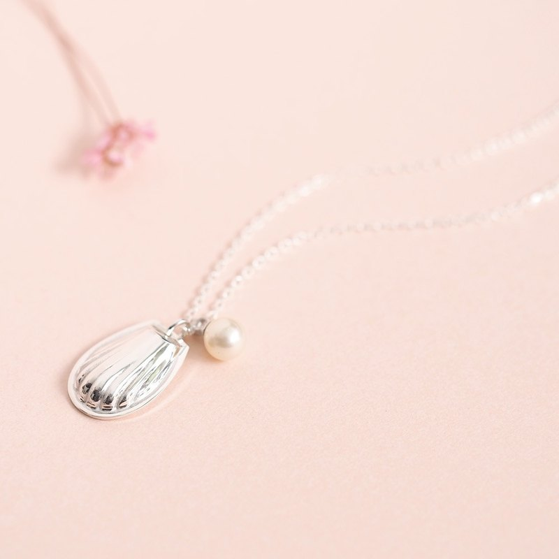Pearl Madeleine necklace Silver 925