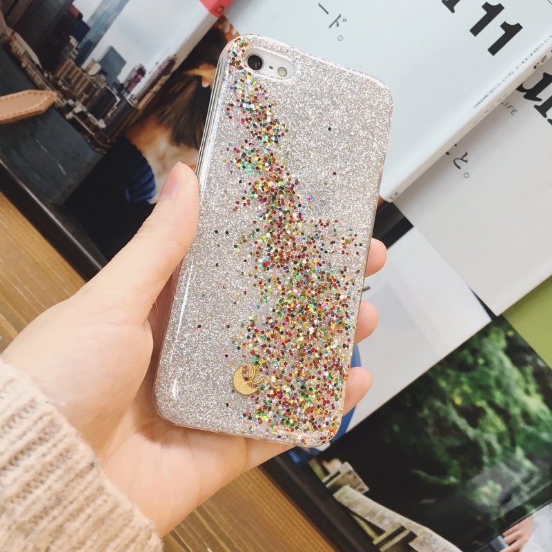 SNOW CANDY - PHONE CASE / RAINBOW