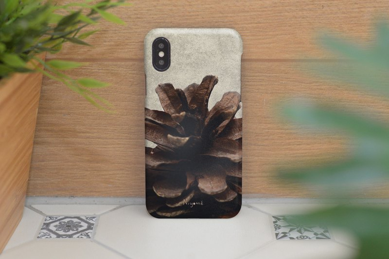 close up Pine cones iphone case สำหรับ iphone7 iphone 8, iphone 8 plus ,iphone x