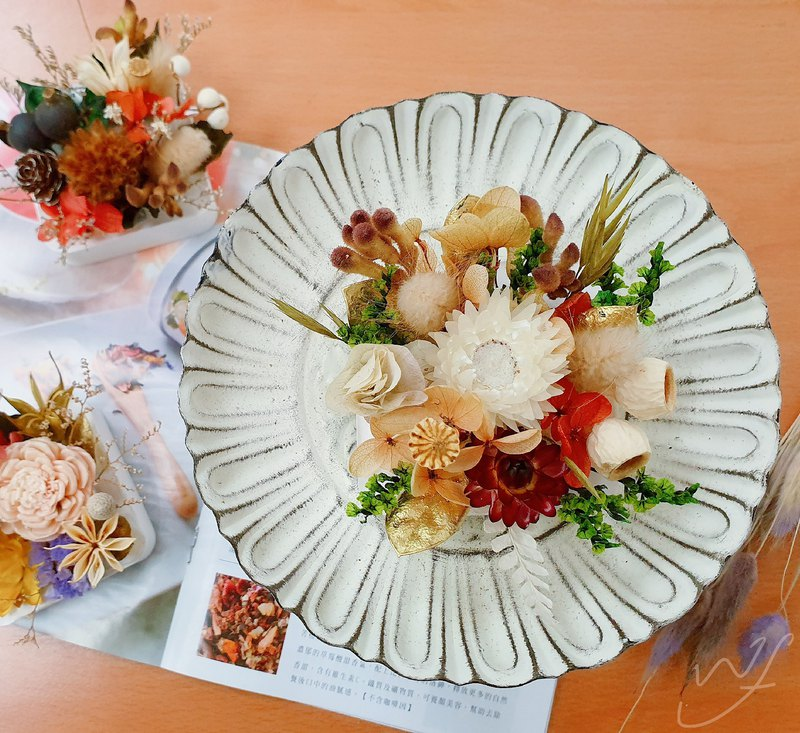 //Experience Course // Dry Flower Expanded Fragrance Flower Art Course Handicraft Fragrance