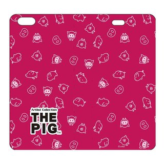 The Dog Big Dog Authorized - Magnetic Leather Case (Rose), AJ03