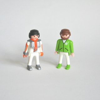 Germany early playmobil 1992 bimonese duo group