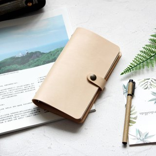 Beibai loose-leaf leather notebook hand book manual leather notebook stationery customization