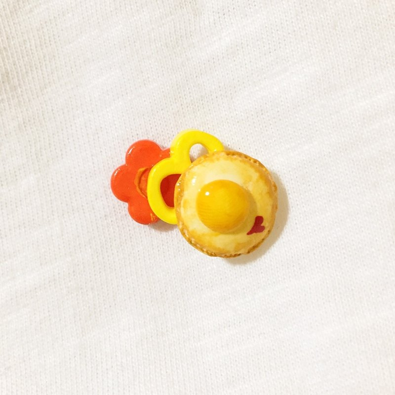 Not picky eaters vegetables series earrings (ear clip-on can be changed) ((over 600 were sent mysterious small gift))