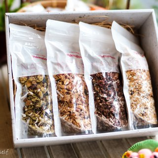 Roasted oats gift box